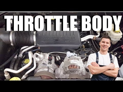 How to Remove Throttle Body for Cleaning on a Dodge Dakota