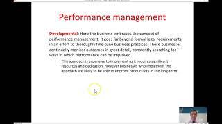 72. performance management