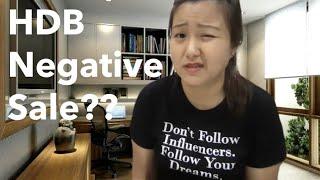 HDB Negative Sale!