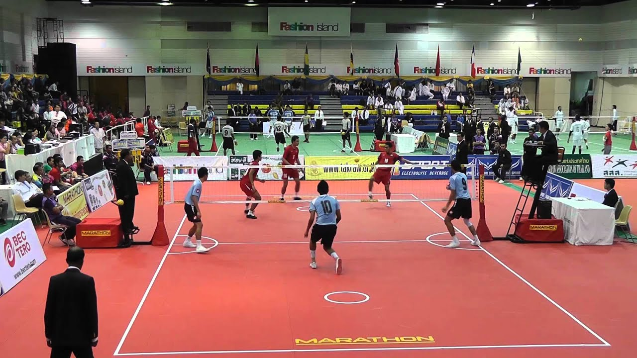 Sepak Takraw King's Cup 2012 - Thailand vs. Malaysia - 2nd regu (Team  Event) - YouTube