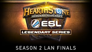 Roger vs Phonetap | Quarterfinal | ESL Hearthstone Legendary Series Season 2 Finals