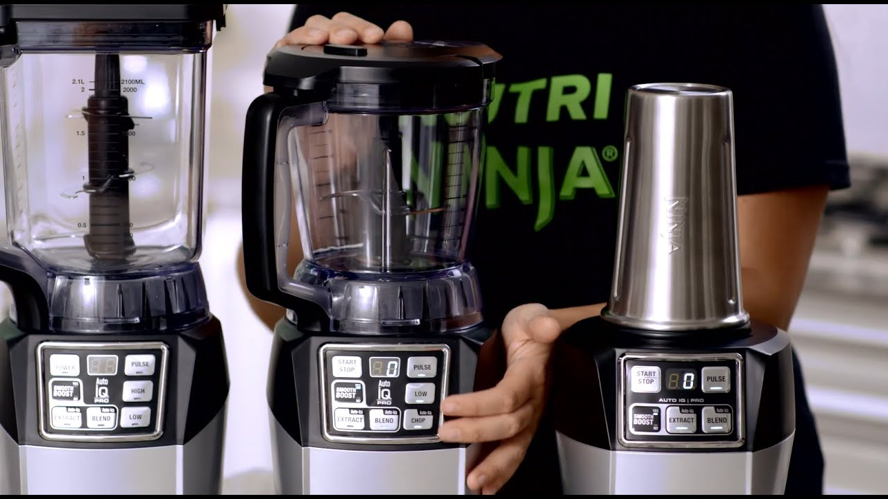 Nutri ninja blender system with auto iq technology - Nutri Ninja Blender System With Auto Iq Technology 14