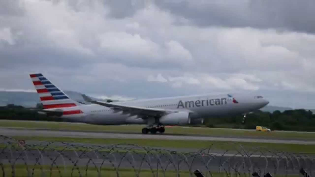 American Airlines Flight 735 Manchester To Philadelphia