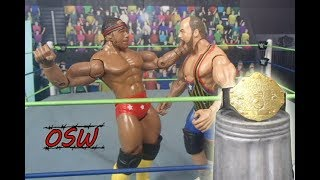 Kurt Angle vs Jay Lethal - WORLD HEAVYWEIGHT CHAMPIONSHIP (WWE Figure Stop Motion)