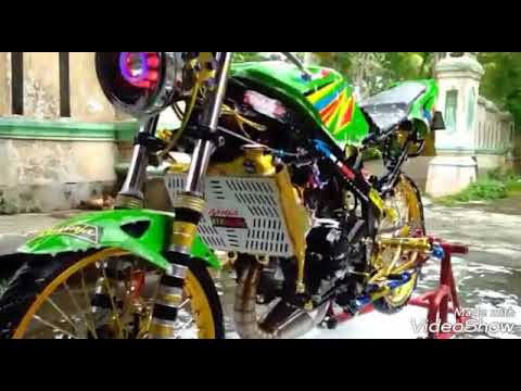 Modifikasi Ninja R 2004 Jari Jari Youtube
