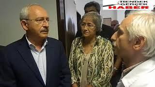 Kemal Kılıçdaroğlu Hendek Devlet Hastanesi nde yaralıları ziyaret etti