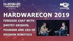 Chat with Dmitry Grishin, Founder, CEO of Grishin Robotics #Hardwarecon #Interview #Robotics
