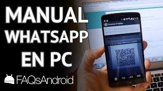 WhatsApp web Android: cómo usarlo en el PC en 2 minutos