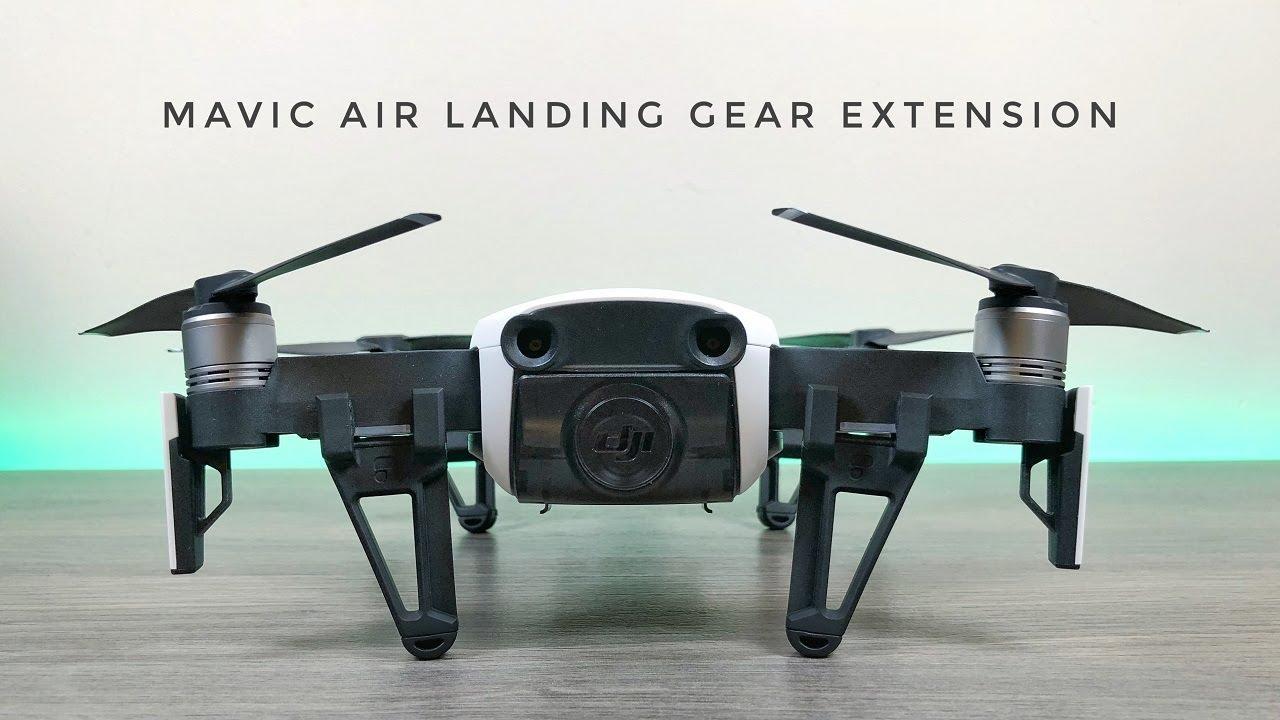 bc9148f6d17 PolarPro DJI Mavic Air Leg Extensions / Landing Gear - YouTube