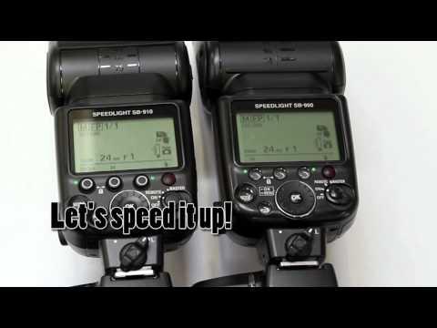 Nikon SB-900 vs SB-910