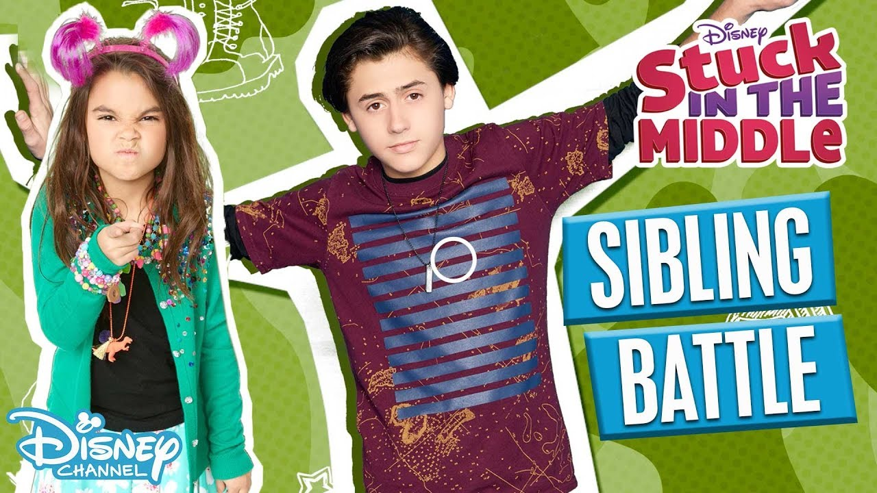 Download Battle of the Siblings 👊  Stuck in the Middle   Disney Channel Africa