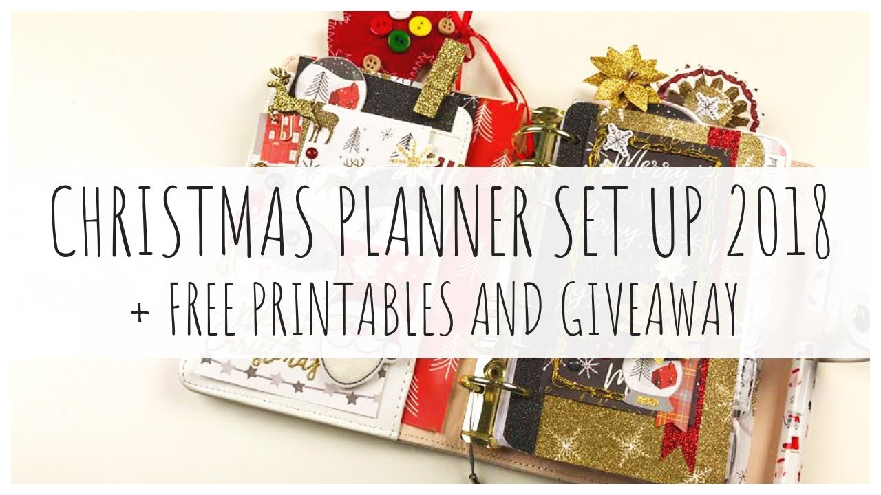 Christmas Planner Printables Free.Christmas Planner Set Up 2018 Free Printables Ms Paperlover