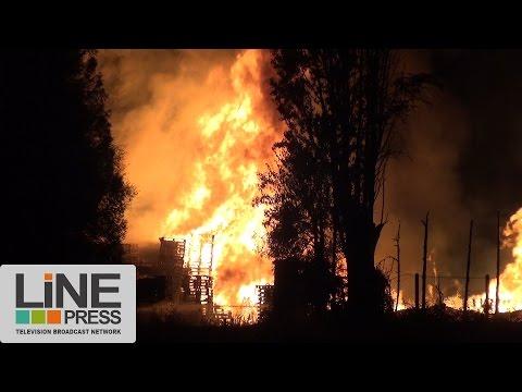 Quatrième nuit d'émeutes. Au coeur des cités. / Beaumont-sur-Oise (95) - France 22 juillet 2016