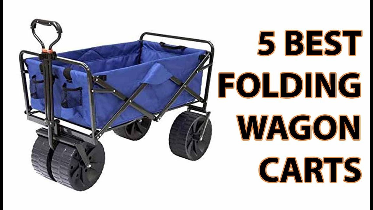 5 Best Folding Wagon Cart 2017   YouTube