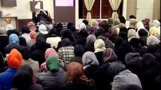 Gulshan-e-Waqf-e-Nau Lajna (20 Feb 2011) educational class with Hazrat Mirza Masroor Ahmad