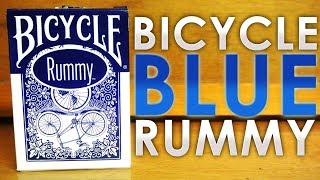 Deck Review - Bicycle Rummy Blue Edition Playing Cards
