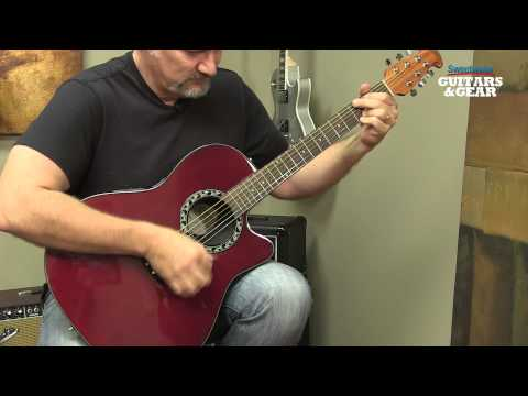 Ovation Applause Balladeer Acoustic-electric Guitar Review by Sweetwater