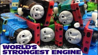 Thomas and friends : World's Strongest Engine   capsule toys plarail