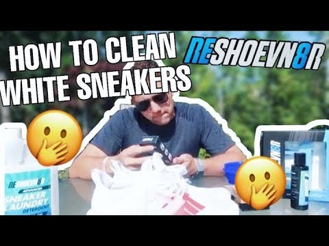 HOW TO CLEAN WHITE SNEAKERS?