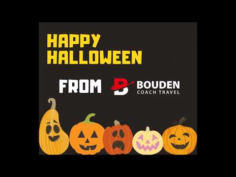 Halloween Half Term Day Trips With Bouden Coach Travel