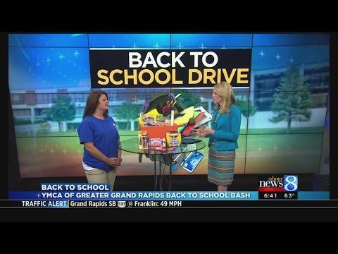 YMCA Back to School Drive
