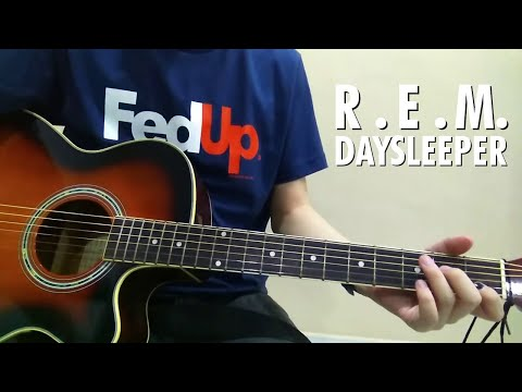 R.E.M. - Daysleeper (Acoustic Cover)