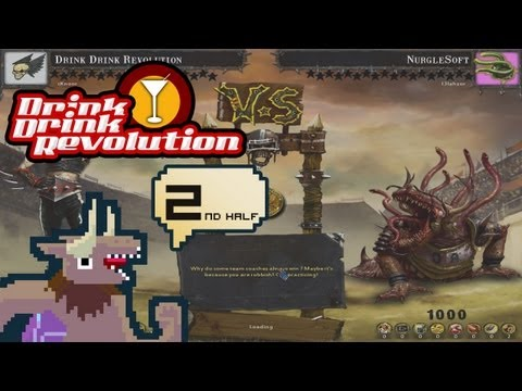 BloodBowl: CE - Drink Drink Revolution - Match 1 Second half v. Nurgle