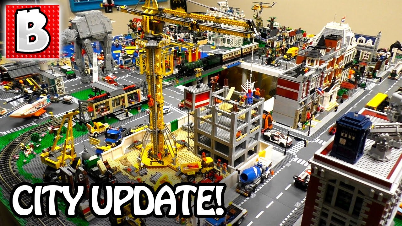 Our LEGO City Update July 2017! City Jungle Theme Display!