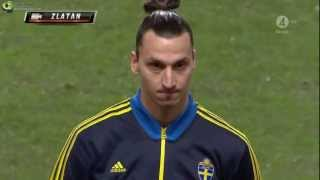 Zlatan Ibrahimovic Vs Argentina | Friendly Match | 2/6/13