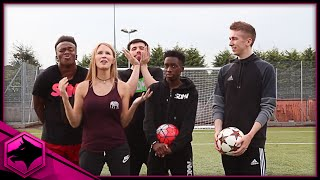 One of Fangs's most viewed videos: VOLLEY CROSSBAR CHALLENGE W/ THE SIDEMEN!!