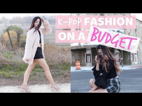 How to Dress Like a K-Pop Idol on a Budget