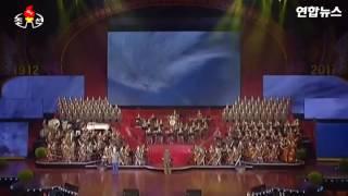 Северная Корея разбомбила США (видео с сайта www.yonhapnews.co.kr)