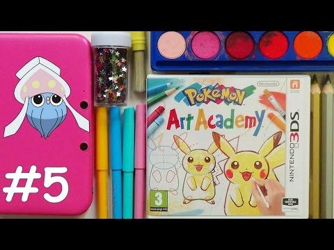 POKEMON Art Academy #5 - INKAY  ٩(。◕‿◕。)۶