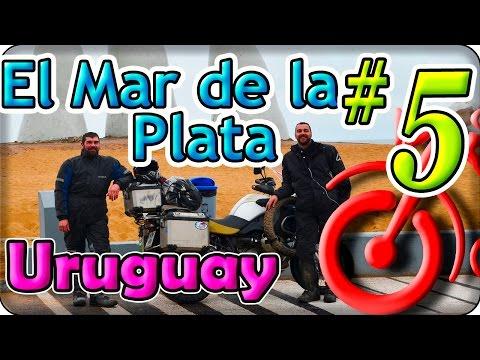 Uruguay en moto, El Mar de la plata. La circunvalación del Cono Sur (5/5). America en moto