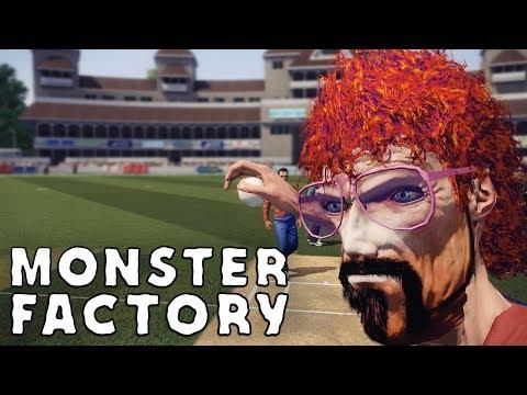 Jim Johnman is playing baseball in Don Bradman Cricket 14 | Monster Factory