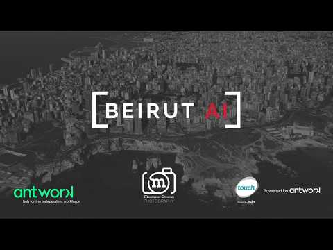Beirut AI #1 | How to work as a data scientist & An artist's perspective on AI