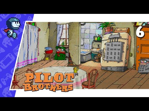 BATHING A DREADFUL MONSTER - Pilot Brothers #6 (Let's Play/PC) |
