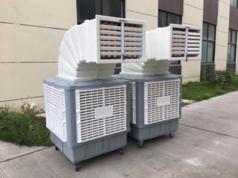 Moly Top / Bottom /Side Air Discgarge Industrial Air Cooler ...