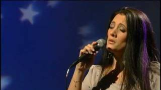 Giorgia sings Ave Maria on french television