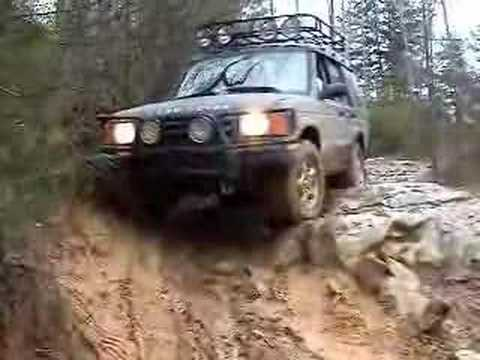 Land Rover Off Road Stone Step  Youtube