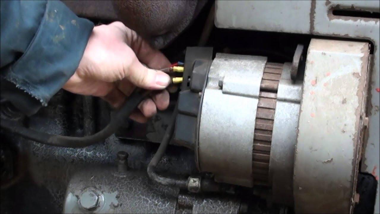 repairing an electrical fault on a massey ferguson part 2