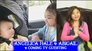 angelica Hale Sings Nursery Rhymes to Sister Abigail & Announces Her Coming Today Show TV Guesting
