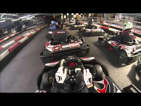 Teamsport Docklands 50 lap Go kart race