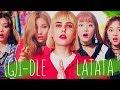 LATATA - (G)I-DLE ((여자)아이들) Russian Cover    На русском