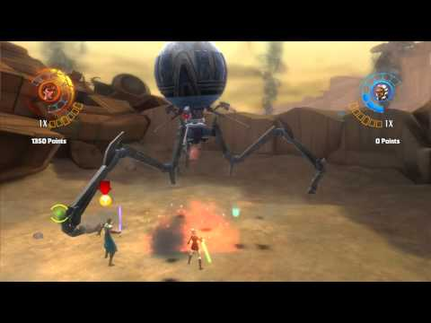 Star Wars The Clone Wars Republic Heroes Pt1 Im liking this game |