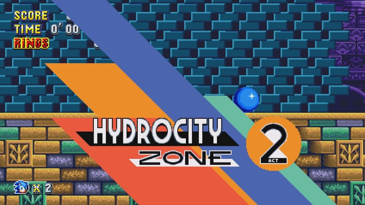 Sonic Mania Hydrocity Zone Act 1 Boss – Migliori Pagine da Colorare
