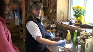 Échantillon d'eau du robinet avec purge de 5min