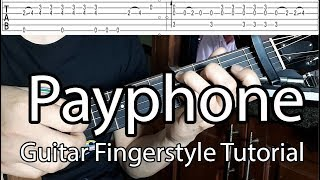 Hướng dẫn: Payphone(Maroon 5) Guitar Fingerstyle Tutorial