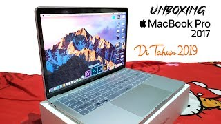 Unboxing Laptop Apple Macbook Pro Retina 2017 Non Touch Bar di Tahun 2019 Resmi Ibox