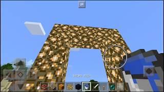 КАК ЛЕГКО ПОСТРОИТЬ ПОРТАЛ В РАЙ В Minecraft PE 1.1 | КАК ПОСТРОИТЬ ПОРТАЛ В РАЙ И АД В МАЙНКРАФТ
